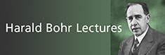 The Harald Bohr Lectures