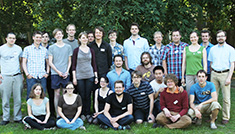 Postdocs and PhD students of the Centre.